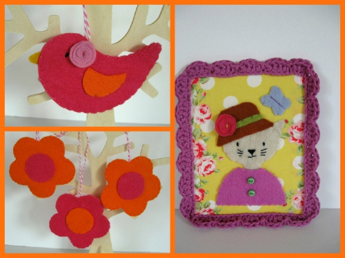 chat,fleur,oiseau,rose,orange,